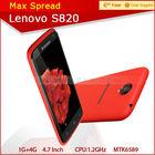 phone lenovo s820 android 4.2 dual sim lenovo mtk6589 quad core mobile