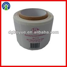 Custom Printing Glossy Lamination Adhesive Sticker Labels , Custom Personalized Roll Logo Stickers