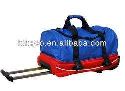 New trolley duffle bag Large capacity duffel bag with trolley practical duffle trolley bag
