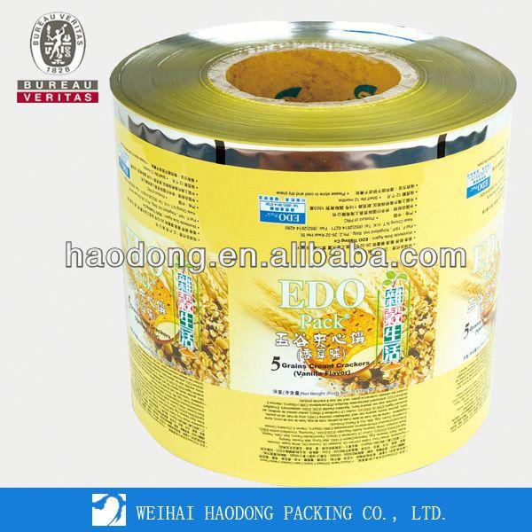 Beurre Margarine Film d'emballage par la chine la production