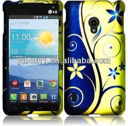 Pretty Royal Swirl Bling Phone Case for LG VS870
