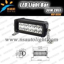 New c ree 36w LED LIGHT BAR,atv 4x4 Led lighing for Off Road,SUV,UTV,4WD,4X4 Vehicle,J eep Polaris Tractor Marine Truck Raptor