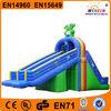 advertisement inflatable bouncer water slide pool for kindergarten