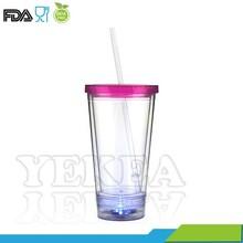 Hot selling in Halloween day! 450ML LED flashing mug, beer mug