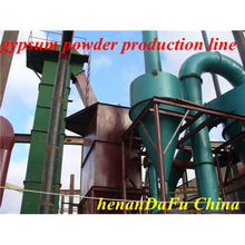 The New Type Plasterpowder production machine for real estate