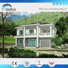 Beautiful Cheap Modern luxury prefab steel villa