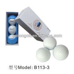 High Quality Golf Ball With Golf Ball Holder ,Golf Tournament Ball,Golf Gift Set B113