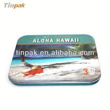 popular high quality square dvd metal box