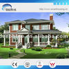 Luxury steel frame prefabricated modern prefab villas