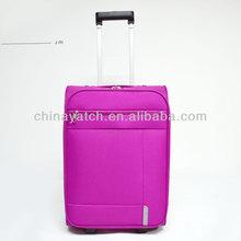 Top fashionable Pink Lightweight 600D EVA travel trolley case