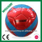 Inflatable machine sewn metallic shiny PVC soccer ball