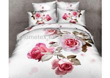 3d duvet cover set flower printed, white 3d bedsheet, adult bed sheet designs