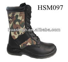 BJ,newest pattern camouflage canvas upper waterproof military style jungle boots
