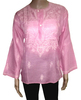 Thanks Giving Women Tunic Top Kurta Ethnic Clothing Chikan Kurtis
