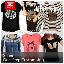 Fashionable Women T-shirt Factory Manufacturer