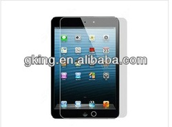 ultra thin /clear tempered glass screen protector for ipad mini,OEM Welcome!