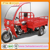 China cheap cheap used closed driver cabin cargo tricycle with box for sale