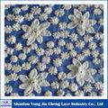 motifs de broderie arabe tissu en dentelle guipure