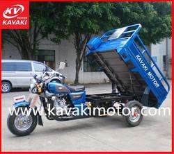 Guangzhou KAVAKI hydraulic carriage cargo tricycle made in china