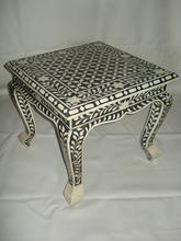 Bone & Mother of Pearl Inlay Furniture