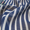 Navy wind stripe chiffon fabric dress material