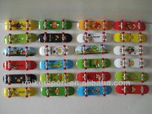 Plastic Finger Skateboards, Toy skateboards, mini finger skateboards