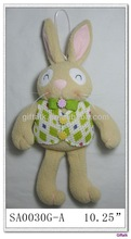 fabric easter bunny decoration