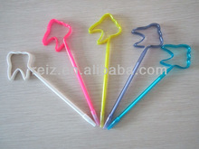 Tooth promotional pen