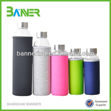 customized neoprene promotion protective sleeves for glass bottle