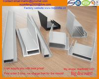 6063 aluminium alloy anodizing aluminium extrusion profile for solar frames