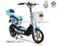 تصميم جميل 48v 350w سهلة متسابق الدراجة الكهربائية