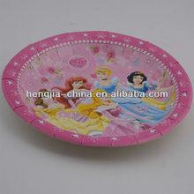 Disney paper plate