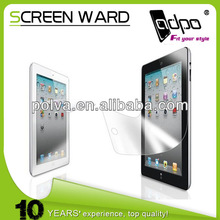 Manufacturer LCD Screen Protector Film Guard Cover for Ipad air
