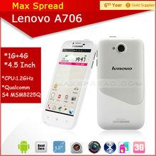 4.5'' Lenovo A706 dual sim dual standby mini cellular phone