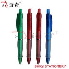 Full color rubber plastic soft hand ballpoint pen