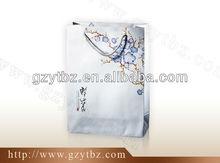 CMYK print laminated chrome paper bag
