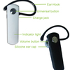 Hight Quality DSP Noise Cancelling Technology New Stereo Bluetooth Headset