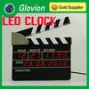 Clapperboard Digital Alarm Clock Directors Edition Digital Alarm Clock MOVIE SLATE LED CLOCK