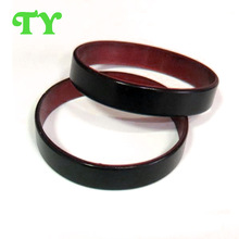 first class silicone bracelet with two-side printing