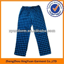 men pajamas design wholesales flannel men's pajamas