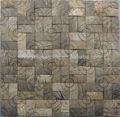cáscara de coco de mosaico