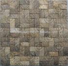 Coconut shell mosaic