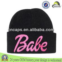3D embroidery beanie skull cap/ski skull caps/wholesale slouch beanie cap