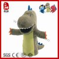 verde dinosaurio marioneta de mano de la felpa juguetes de dinosaurios