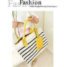 2014 new arrival nice quality cowhide leather women handbag trade shows,fashion tote bag dropship paypal