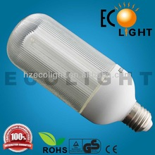 Ecolight,New Design half spiral smart lighting T3 Energy Saving Bulb frosted glass 15w