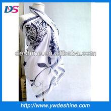 HOT SALE new style wholesale fashion beach pareo silk sarong colorful printed pareo WJ-175