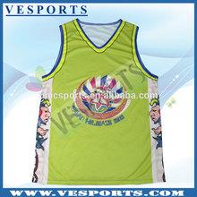 Custom printed Hot sale ncaa jersey basketball
