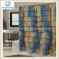 tela de la cortina de ducha de la cenefa patrón