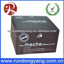 High-grade generous Hair Meche packaging box
